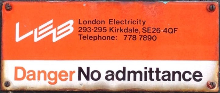 London Electricity Board Mesothelioma