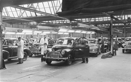 Morris Motors British Leyland Workers Diagnosed With