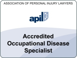 accredited occupational disease